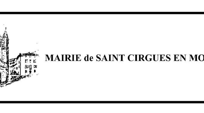 ST CIRGUES EN MONTAGNE
